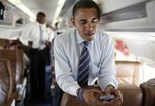 Obama Texting