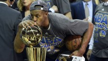Andre Iguodala Wins Bill Russell Award As NBA Finals MVP