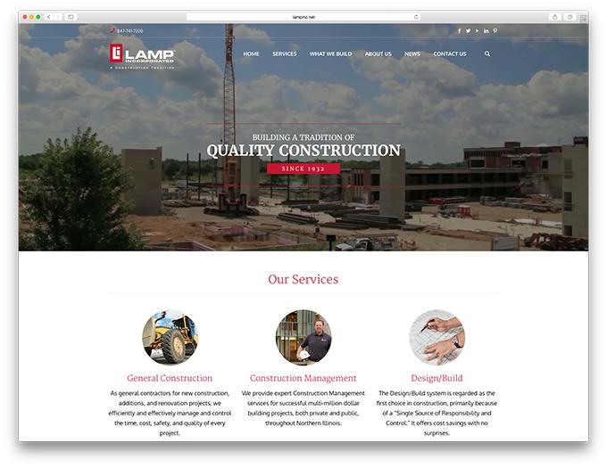 lamp-website